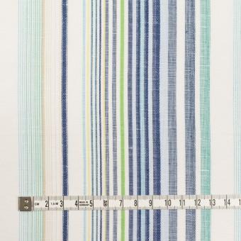 コットン&リネン×ストライプ(エメラルド&ネイビー)×薄キャンバス・ジャガード_全2色 サムネイル4