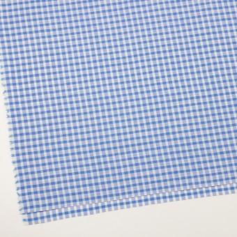コットン&リネン×チェック(ブルー)×薄シーチング サムネイル2