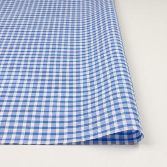 コットン&リネン×チェック(ブルー)×薄シーチング サムネイル3