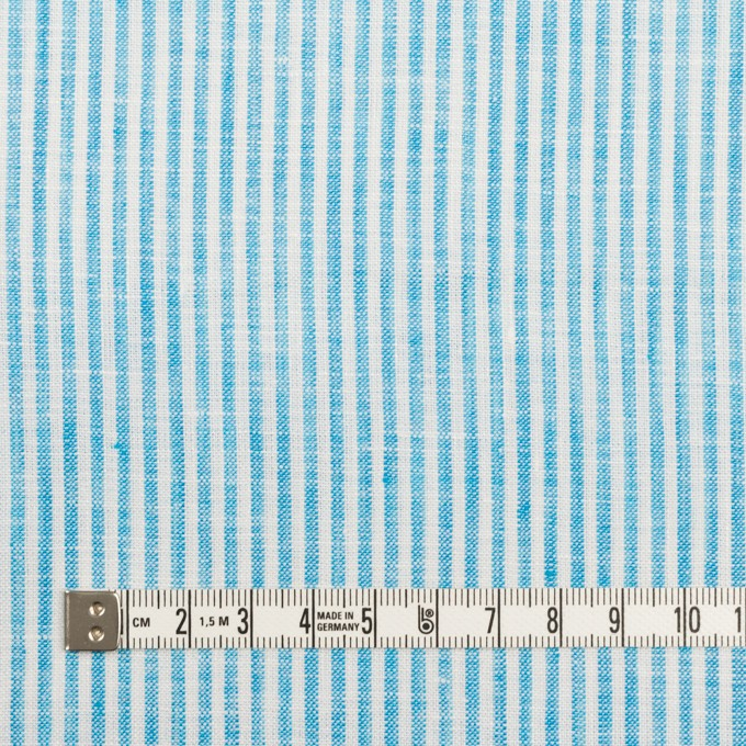リネン&コットン×ストライプ(スカイブルー)×薄キャンバス_全2色 イメージ4