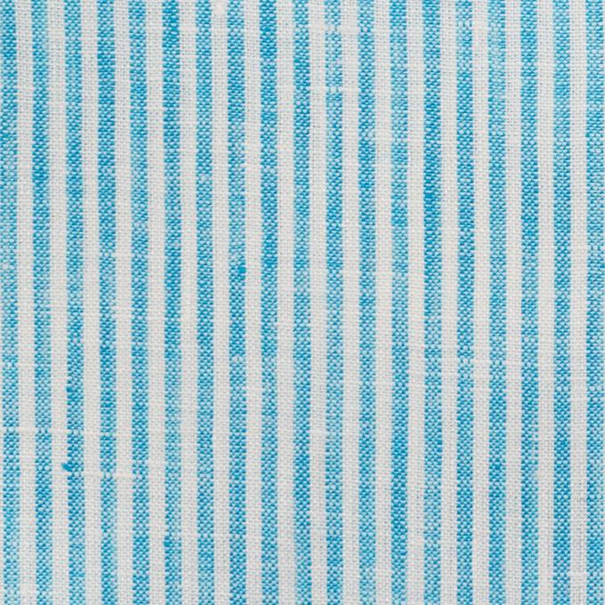 リネン&コットン×ストライプ(スカイブルー)×薄キャンバス_全2色 イメージ1