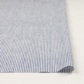 リネン&コットン×ストライプ(ネイビー)×薄キャンバス_全2色 サムネイル3
