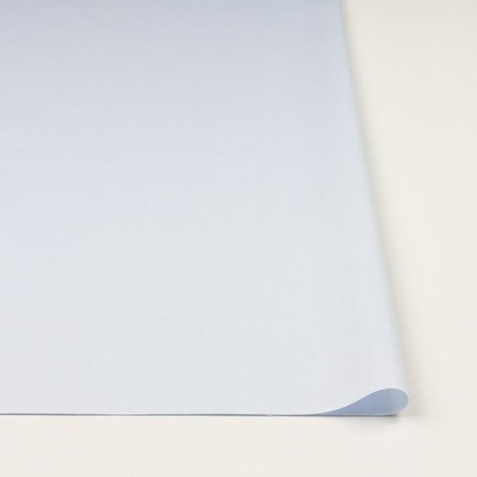 コットン×無地(ペールブルー)×薄オックスフォード イメージ3