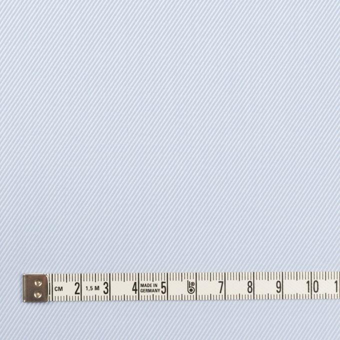 コットン×無地(サックス)×サージ イメージ4