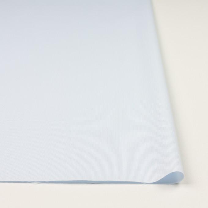 コットン&ポリエステル×ストライプ(ペールブルー)×かわり織 イメージ3