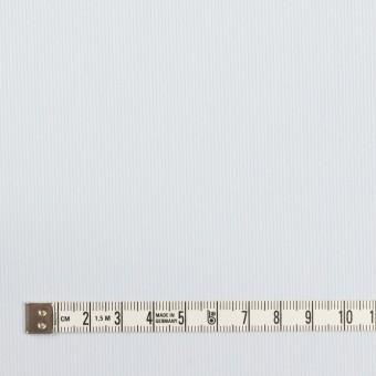 コットン&ポリエステル×ストライプ(ペールブルー)×かわり織 サムネイル4
