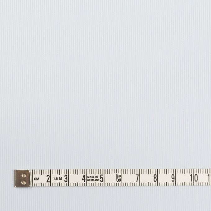 コットン&ポリエステル×ストライプ(ペールブルー)×かわり織 イメージ4