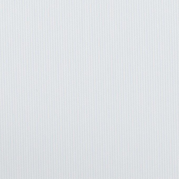 コットン&ポリエステル×ストライプ(ペールブルー)×かわり織 イメージ1