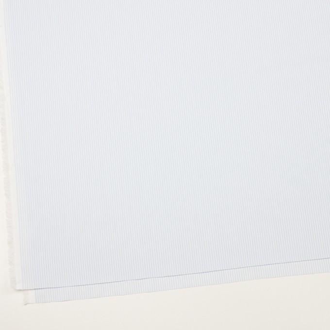 コットン×ストライプ(ペールブルー)×ブロード イメージ2