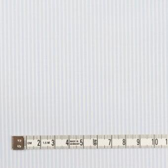 コットン×ストライプ(ペールブルー)×ブロード サムネイル4