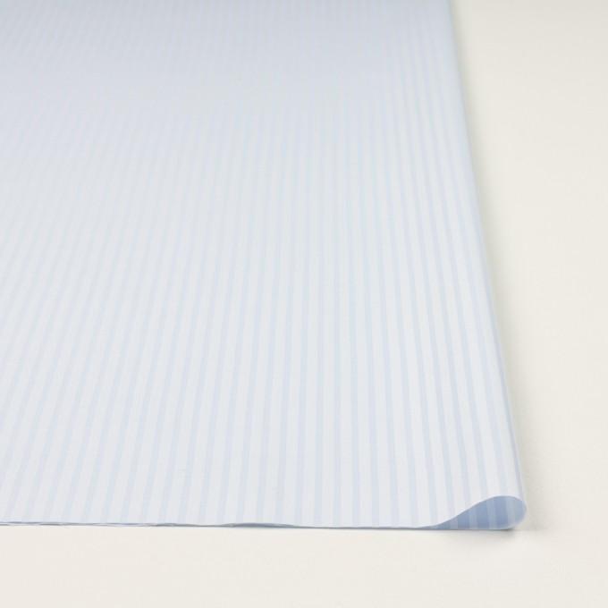 コットン×ストライプ(ペールブルー)×サージジャガード イメージ3