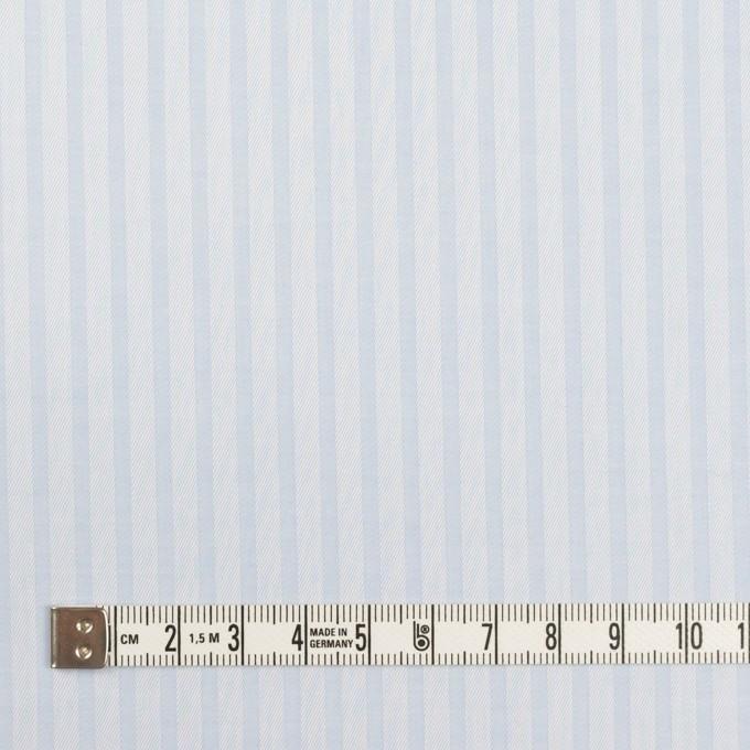 コットン×ストライプ(ペールブルー)×サージジャガード イメージ4