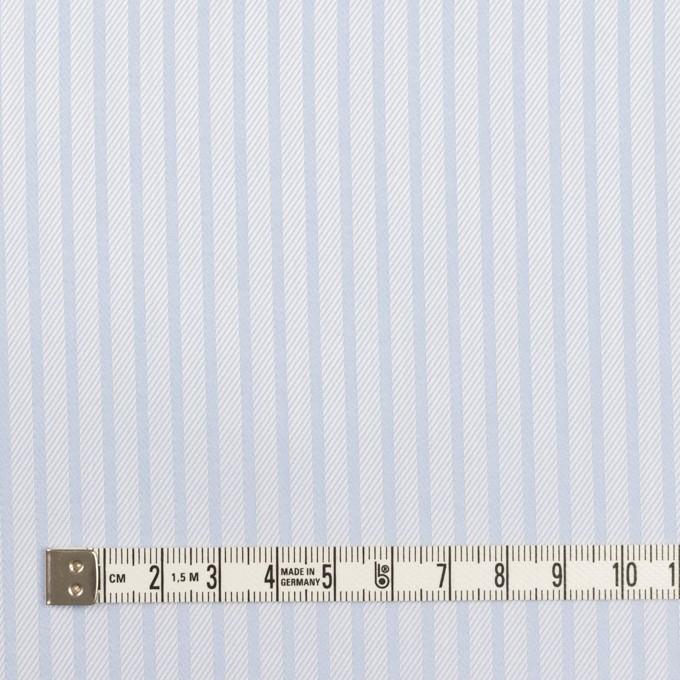 コットン×ストライプ(サックス)×サージジャガード イメージ4