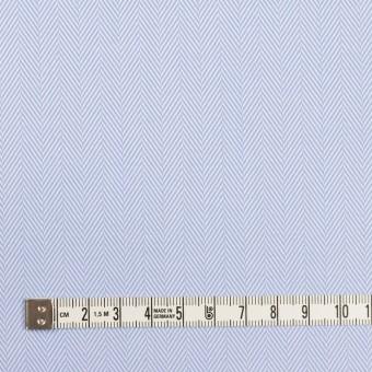 コットン×無地(サックス)×ヘリンボーン サムネイル4