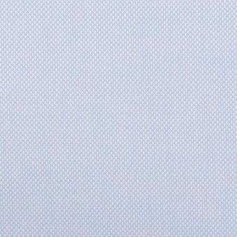 コットン×無地(サックス)×斜子織