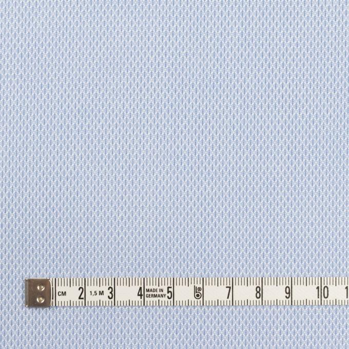 コットン×ダイヤ(サックス)×ボイルジャガード イメージ4
