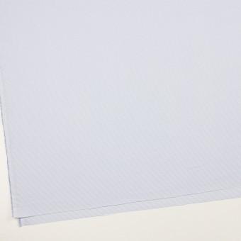 ポリエステル×ボーダー(サックス)×斜子織 サムネイル2