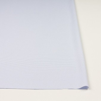 ポリエステル×ボーダー(サックス)×斜子織 サムネイル3