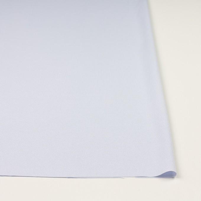 ポリエステル×ボーダー(サックス)×斜子織 イメージ3