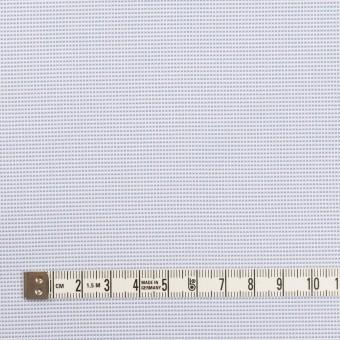ポリエステル×ボーダー(サックス)×斜子織 サムネイル4