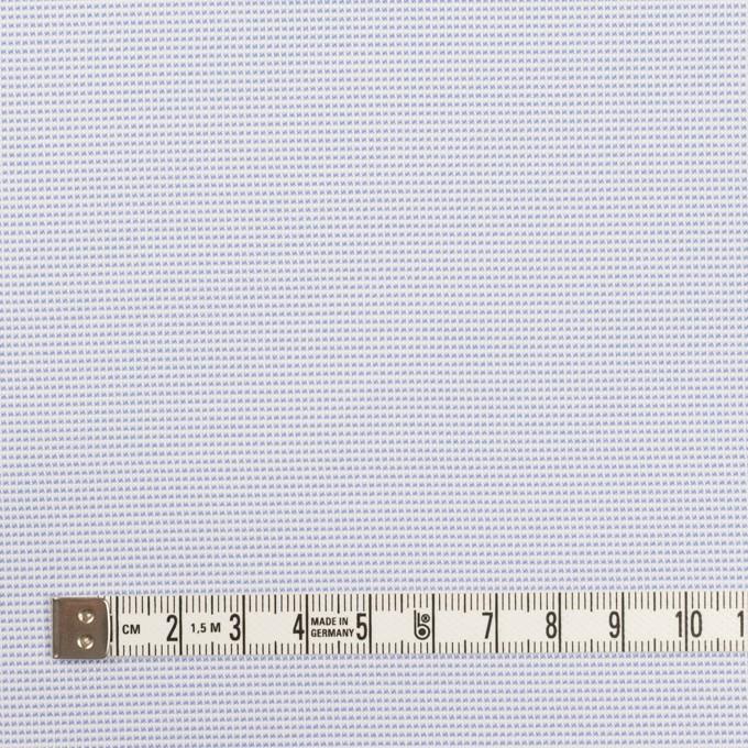 ポリエステル×ボーダー(サックス)×斜子織 イメージ4