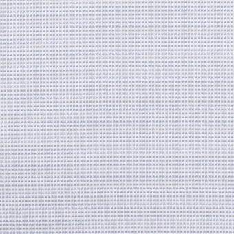ポリエステル×ボーダー(サックス)×斜子織