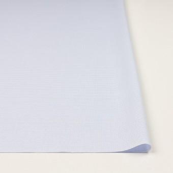 コットン×ボーダー(サックス)×斜子織 サムネイル3