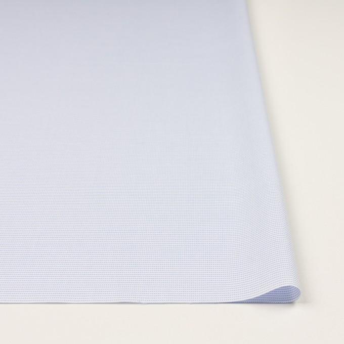 コットン×ボーダー(サックス)×斜子織 イメージ3