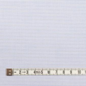 コットン×ボーダー(サックス)×斜子織 サムネイル4