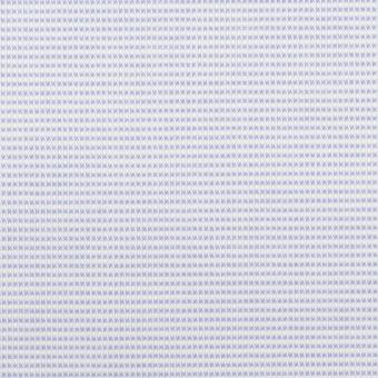 コットン×ボーダー(サックス)×斜子織