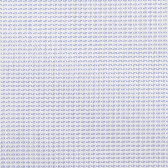コットン×ボーダー(サックス)×斜子織 イメージ1