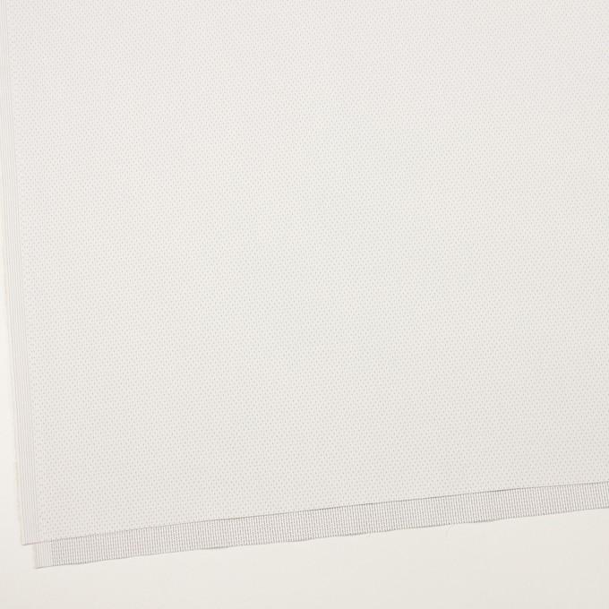 コットン&ポリウレタン×ステッチ(ミルク&ネイビー)×ドビーストレッチ イメージ2