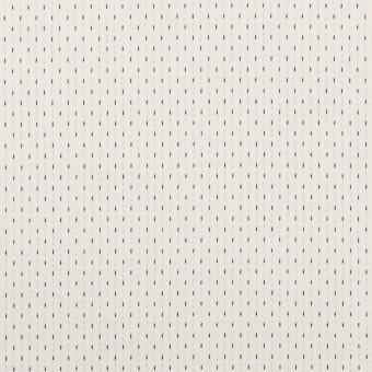 コットン&ポリウレタン×ステッチ(ミルク&ネイビー)×ドビーストレッチ