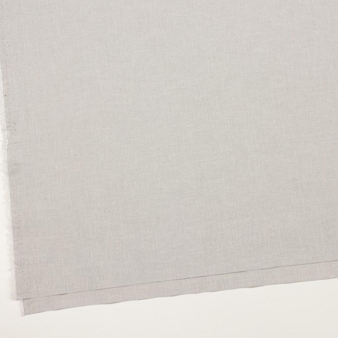 コットン&ポリウレタン×ストライプ(グレー)×シーチング・ストレッチ イメージ2