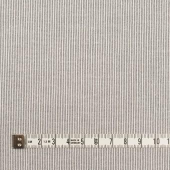 コットン&ポリウレタン×ストライプ(グレー)×シーチング・ストレッチ サムネイル4