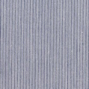 コットン×ストライプ(ネイビー)×コードレーン_全2色