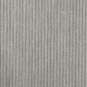 コットン×ストライプ(チャコールグレー)×コードレーン_全2色