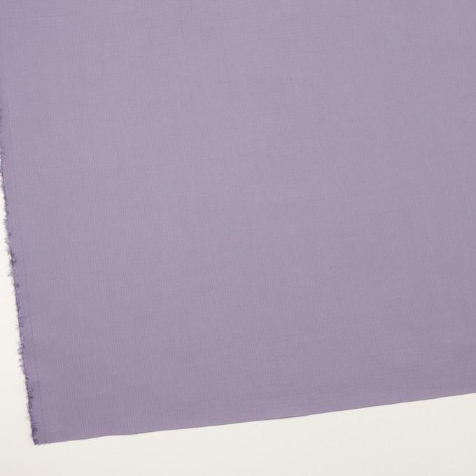 コットン&シルク×無地(ラベンダー)×リップストップ_全4色 イメージ2