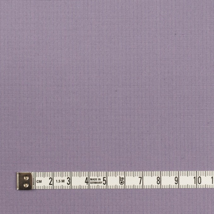 コットン&シルク×無地(ラベンダー)×リップストップ_全4色 イメージ4