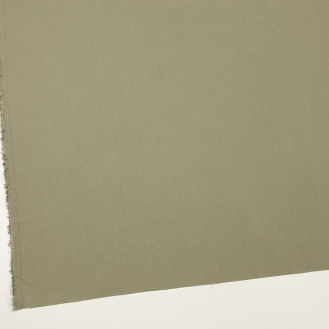 コットン&シルク×無地(アイビーグリーン)×リップストップ_全4色 イメージ2