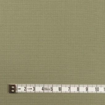 コットン&シルク×無地(アイビーグリーン)×リップストップ_全4色 サムネイル4