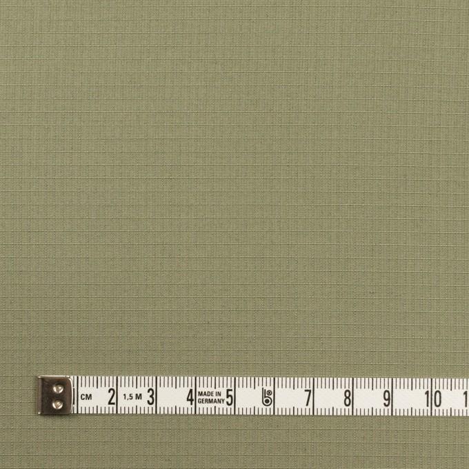 コットン&シルク×無地(アイビーグリーン)×リップストップ_全4色 イメージ4