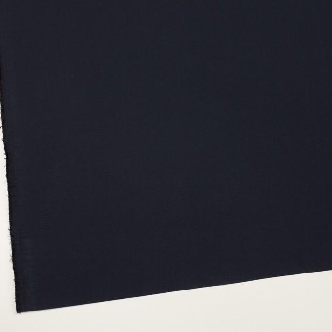コットン&シルク×無地(ブラック)×リップストップ_全4色 イメージ2