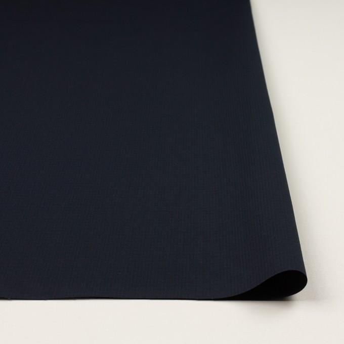 コットン&シルク×無地(ブラック)×リップストップ_全4色 イメージ3