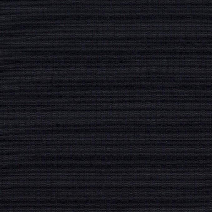 コットン&シルク×無地(ブラック)×リップストップ_全4色 イメージ1