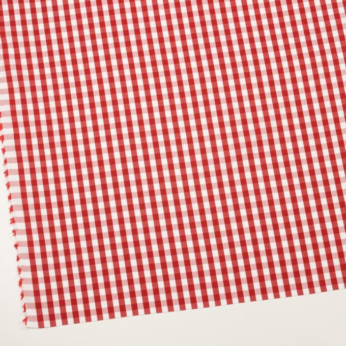 コットン×チェック(レッド)×ブロード イメージ2