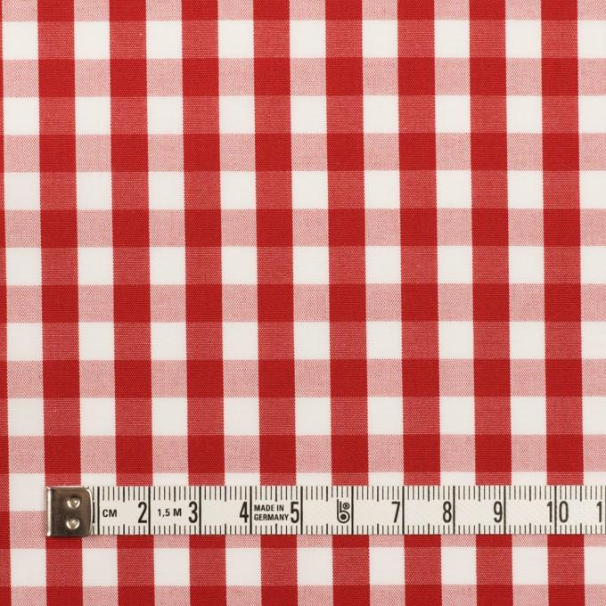 コットン×チェック(レッド)×ブロード イメージ4