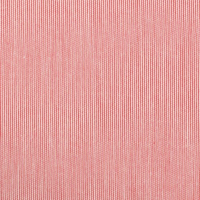 コットン×ストライプ(レッド)×コードレーン イメージ1