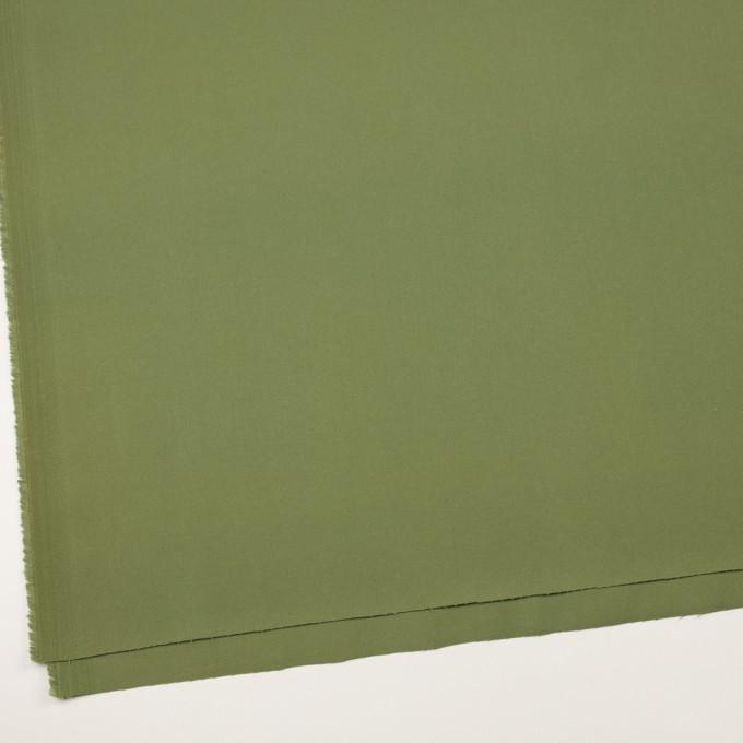 コットン&ポリウレタン×無地(フォレストグリーン)×チノクロス・ストレッチ イメージ2