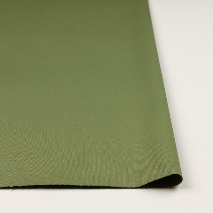 コットン&ポリウレタン×無地(フォレストグリーン)×チノクロス・ストレッチ イメージ3